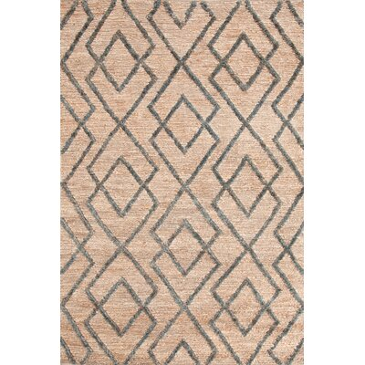 Marco Juniper Cut-pile Blue Area Rug Rug Size: Rectangle 2 x 3