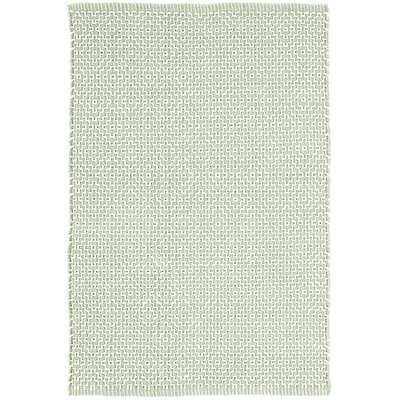 Beatrice Pale Hand-Woven Cotton Green Area Rug Rug Size: Runner 26 x 8
