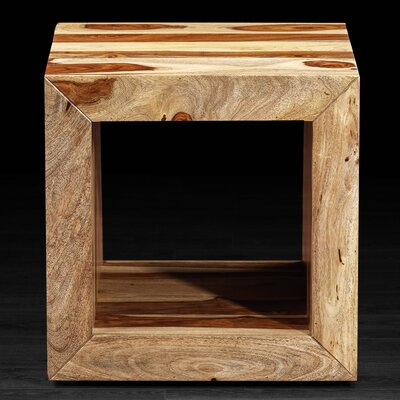 SumSum Cube Side Table Finish: Natural