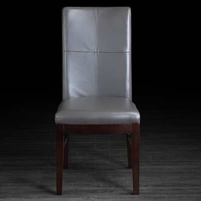 Nona Side Chair Upholstery: Grey