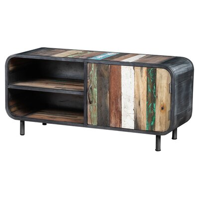Recycled Boat Wood TV Stand