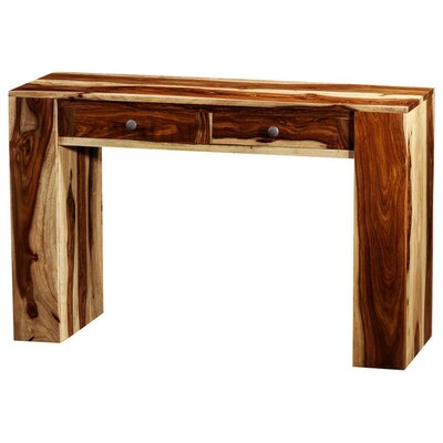 Karine Console Table Finish: Light Brown