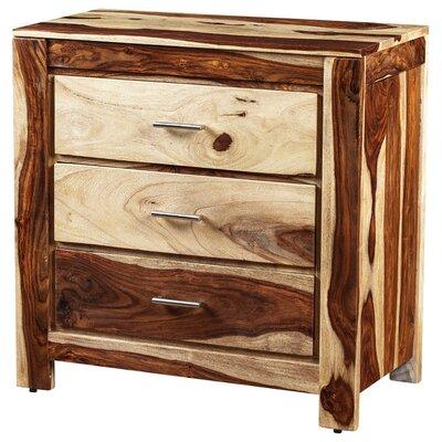 Romy 3 Drawer Standard Dresser Color: Natural