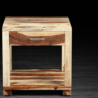 Sandy End Table Finish: Natural