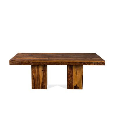 Anand Dining Table Finish: Light Brown