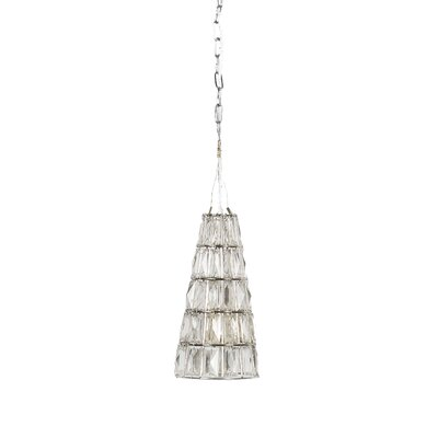 1-Light Crystal Lamp Mini Pendant