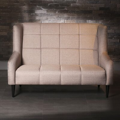 Traditional Loveseat Upholstery: Pink Beige