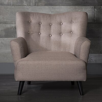 Urban Arm Chair Color: Pink Beige