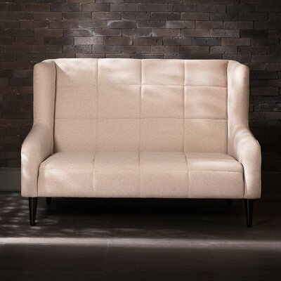 Traditional Loveseat Upholstery: Sand