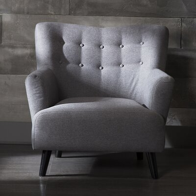 Urban Armchair Color: Grey