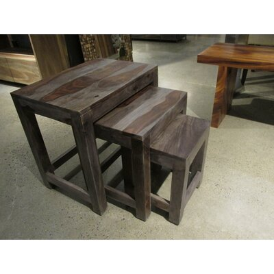 Gaya Rosewood Medium End Table Finish: Light Olive