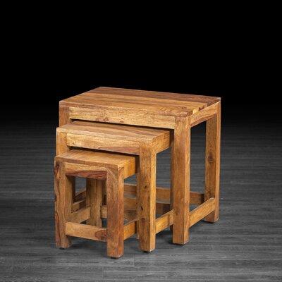 Gaya Rosewood Large End Table Finish: Natural Rosewood