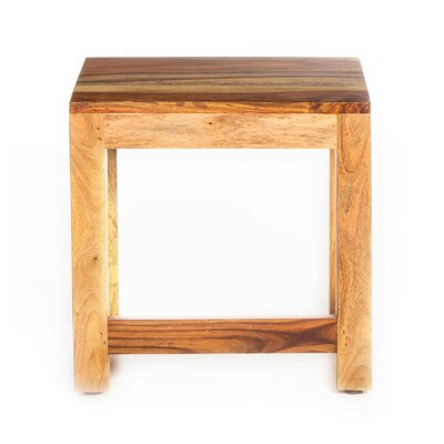 Gaya Rosewood Medium End Table Finish: Light Brown