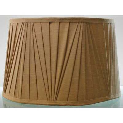 cheap 14 leather drum lamp shade set of 2 color green low price. Black Bedroom Furniture Sets. Home Design Ideas