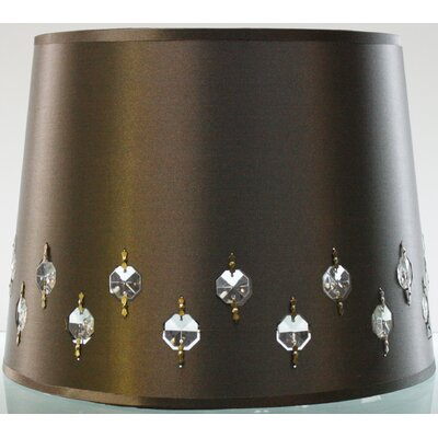 12 Fabric Drum Lamp Shade (Set of 2) Color: Grey