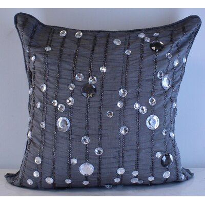 Maryam Rainfall Throw Pillow