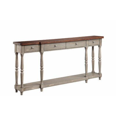 Simpson Console Table Finish: French Gray