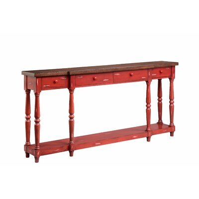 Simpson Console Table Finish: Fired Briquette