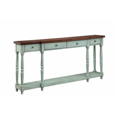 Simpson Console Table Finish: Caribbean Mist