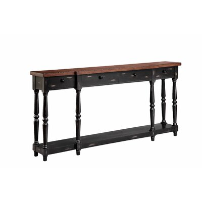 Simpson Console Table Finish: Black Sable