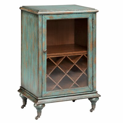 Gemma 8 Bottle Floor Wine Cabinet