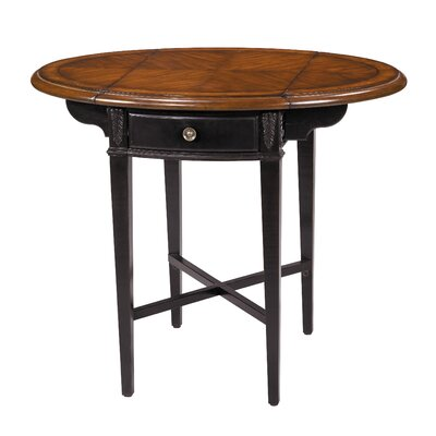 Cheap Stein World 1 Drawer Round Drop Leaf Accent Table (SM1983)