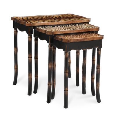 Easy financing Safari 3 Piece Nesting Tables...