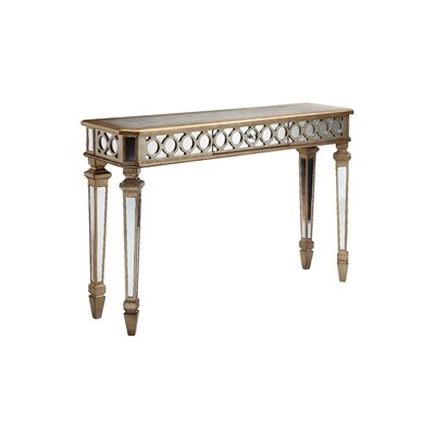 Mikala Mirrored Console Table