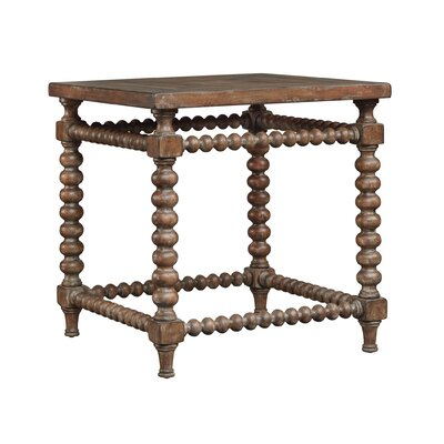 Blandford End Table Color: Brown