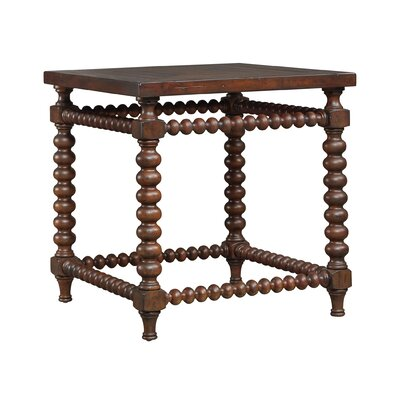 Blandford End Table Color: Chocolate