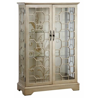 Cosmopolitan Lighted Curio Cabinet