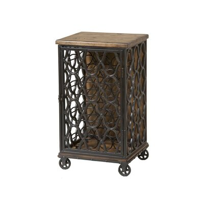 Jane Rae 12 Bottle Floor Wine Cabinet