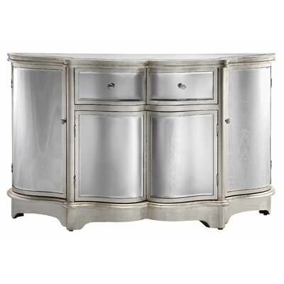 Curved Mirror Sideboard