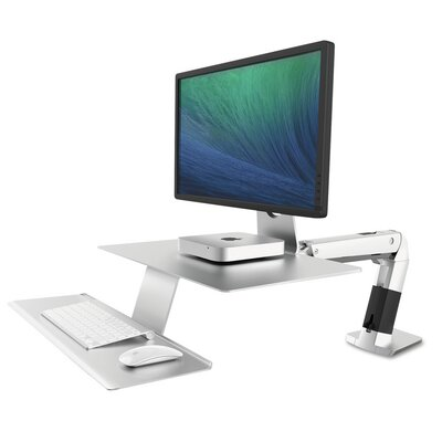 WorkFit-A Sit-Stand Height Adjustable Workstation/Cart