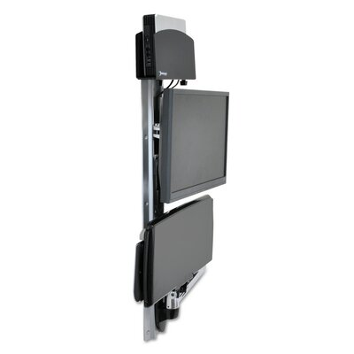 LX System for CPU Height Adjustable Universal Wall Mount