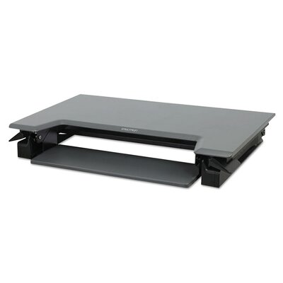 20 H x 35 W Standing Desk Conversion Unit Finish: Black