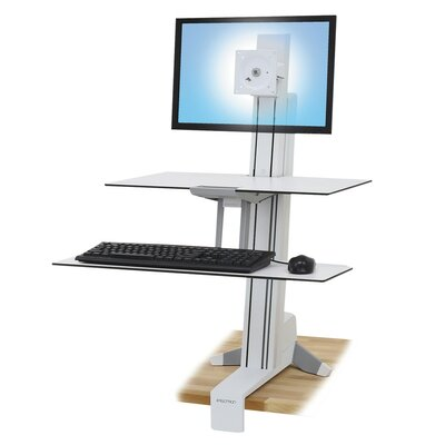 38.5 H x 30.25 W Adjustable Standing Desk Conversion Unit