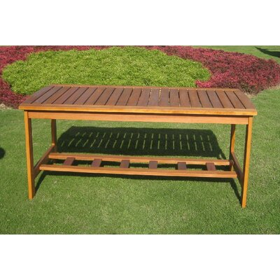 Royal Tahiti Outdoor 2-Tier Patio Table