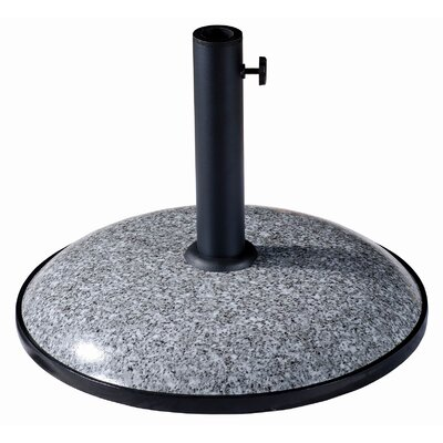 Castile Resin Free-Standing Umbrella Base Finish: Grey Granite