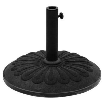 Cast Iron Free Standing Umbrella Base Color: Black