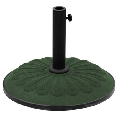 Cast Iron Free Standing Umbrella Base Color: Forest Green