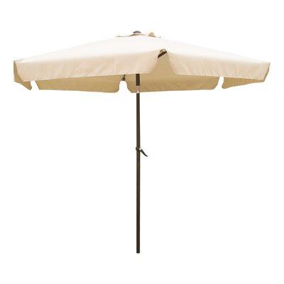 8 St. Kitts Drape Umbrella Fabric: Beige