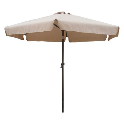 8 St. Kitts Drape Umbrella Fabric: Khaki