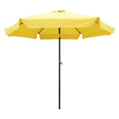 8 St. Kitts Drape Umbrella Fabric: Yellow