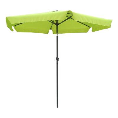 8 St. Kitts Drape Umbrella Fabric: Lime Green