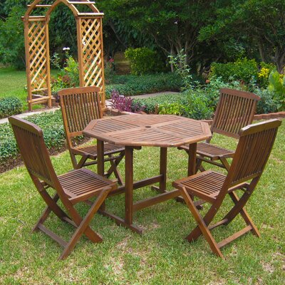Pine Hills 5 Piece Dining Set