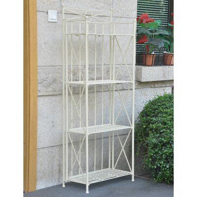 St. Lucia Standard Bakers Rack Size: 59 H x 22 W