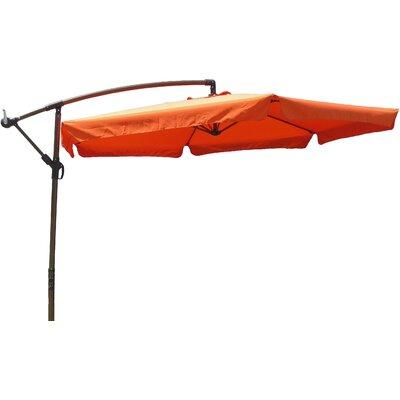 10 Cantilever Umbrella Fabric: Terra Cotta