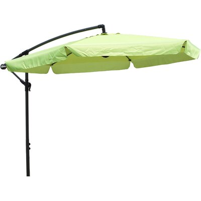 Image of 10' Cantilever Umbrella Fabric: Lime Green