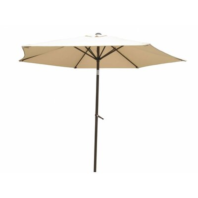8 St. Kitts Umbrella Stands Market Umbrella Fabric: Beige
